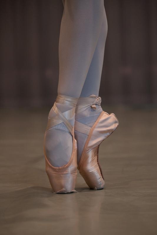 舞者的足尖